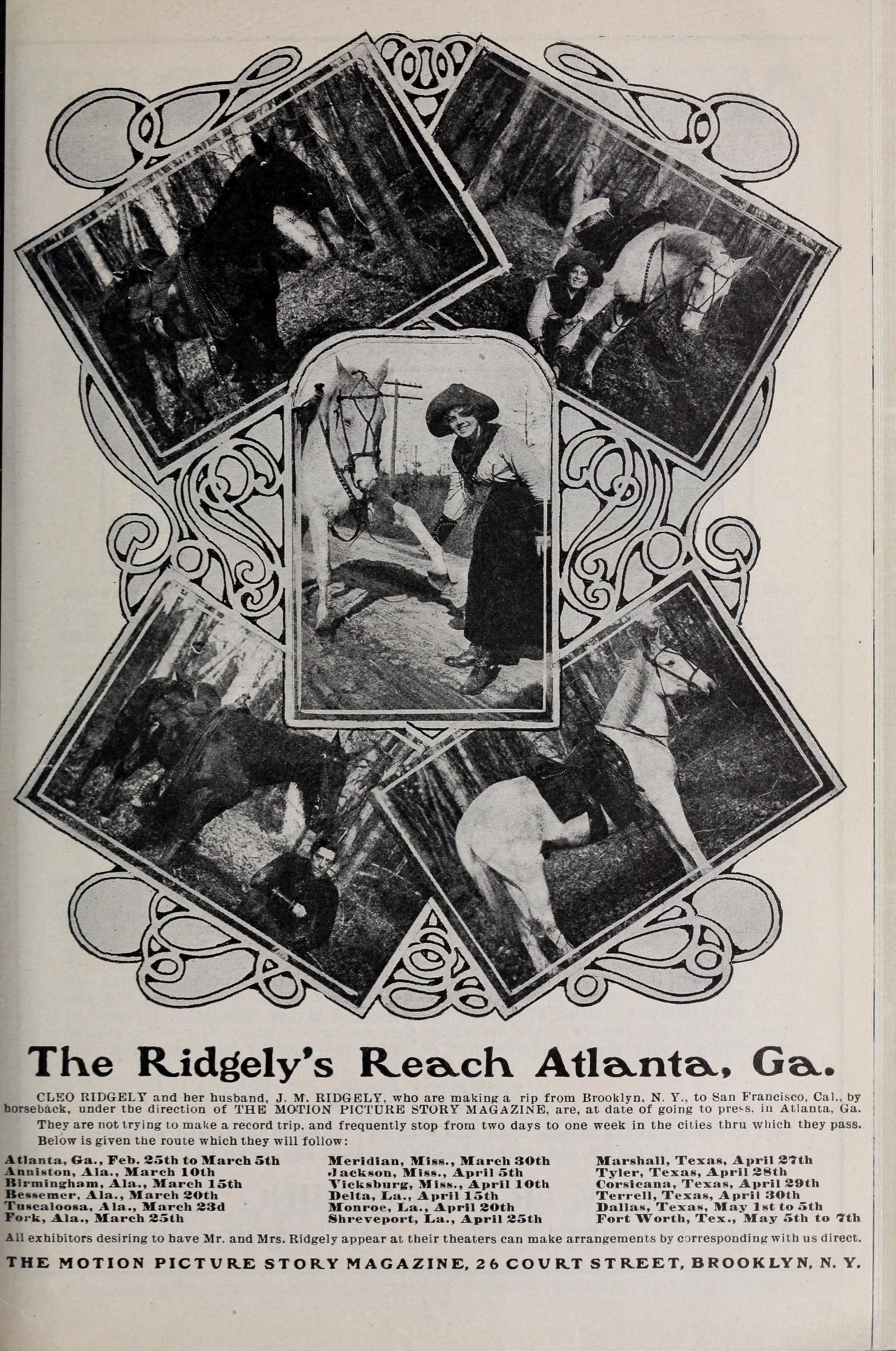 Ridgelys Reach Atlanta GA April 1913.jpg